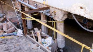 Commercial Foundation Repair in Alexandria